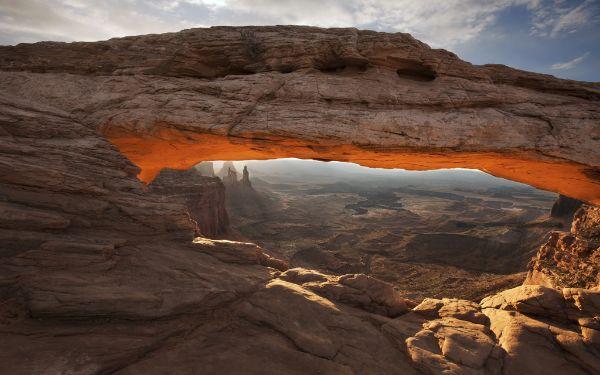Sunrise on the Arch