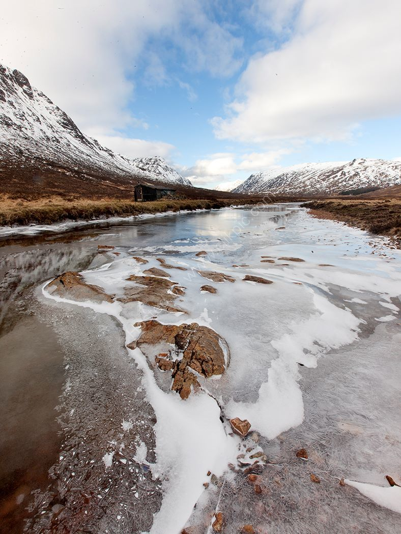 Ice on the glen