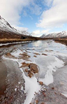 Ice on the glen
