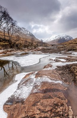 Winter  down the glen