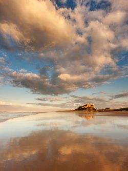 Bamburgh Reflection