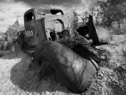 Old Desert Wreck