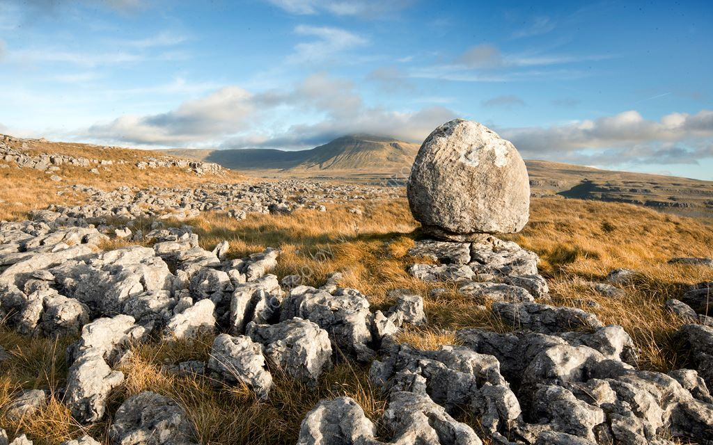 An Erratic in Autumn