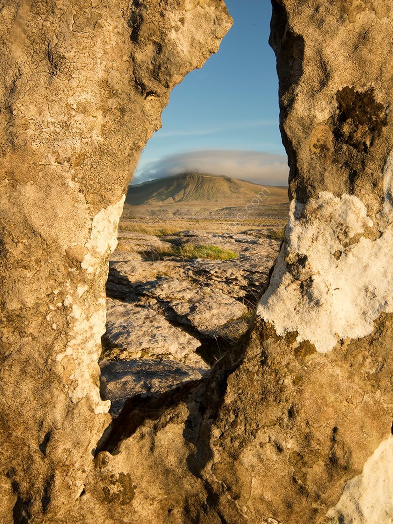 A view through the rock