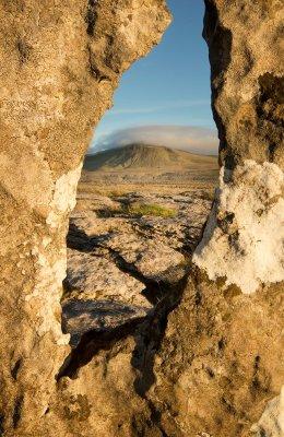 A view through the rock