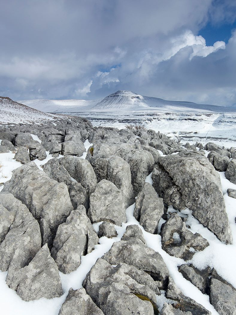 Inglebrough Snowstorm