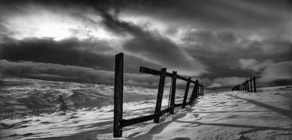 Alston Moor in the snow