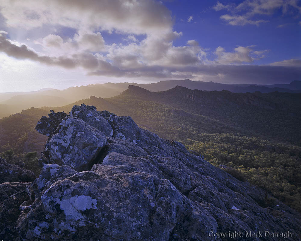 Dawn, Victoria Range