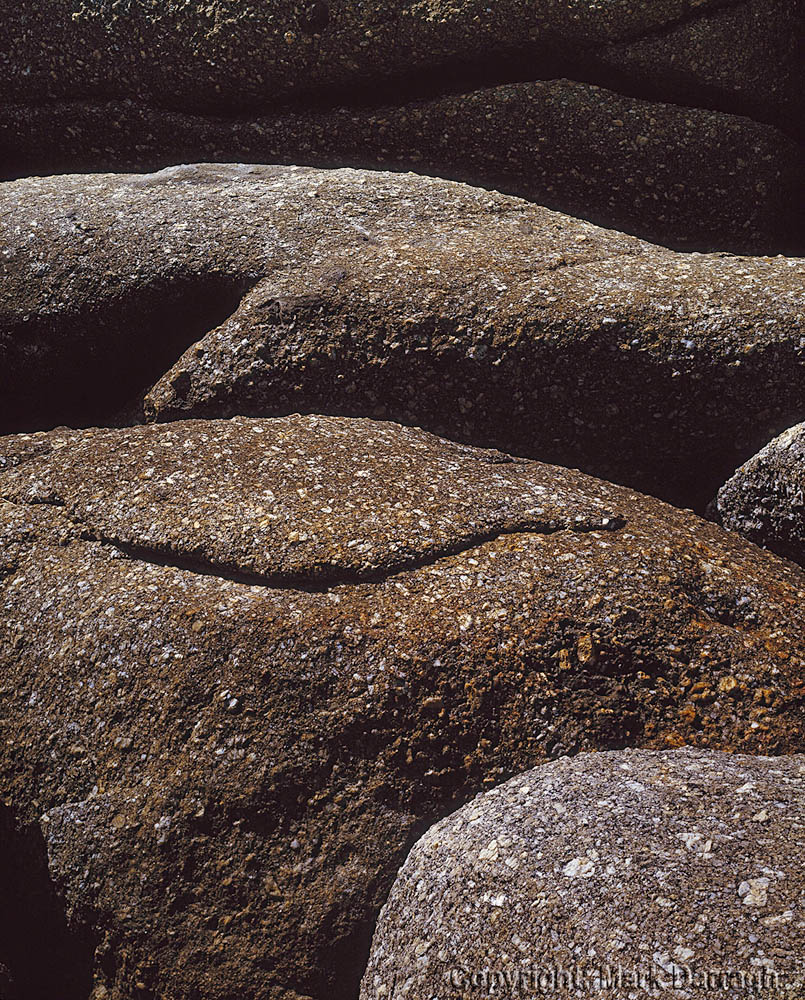 Granite abstract, Whisky Bay