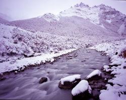 Cerro Solo and the Rio Fitzroy