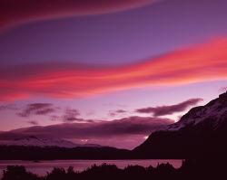 Sunset from Los Cuernos