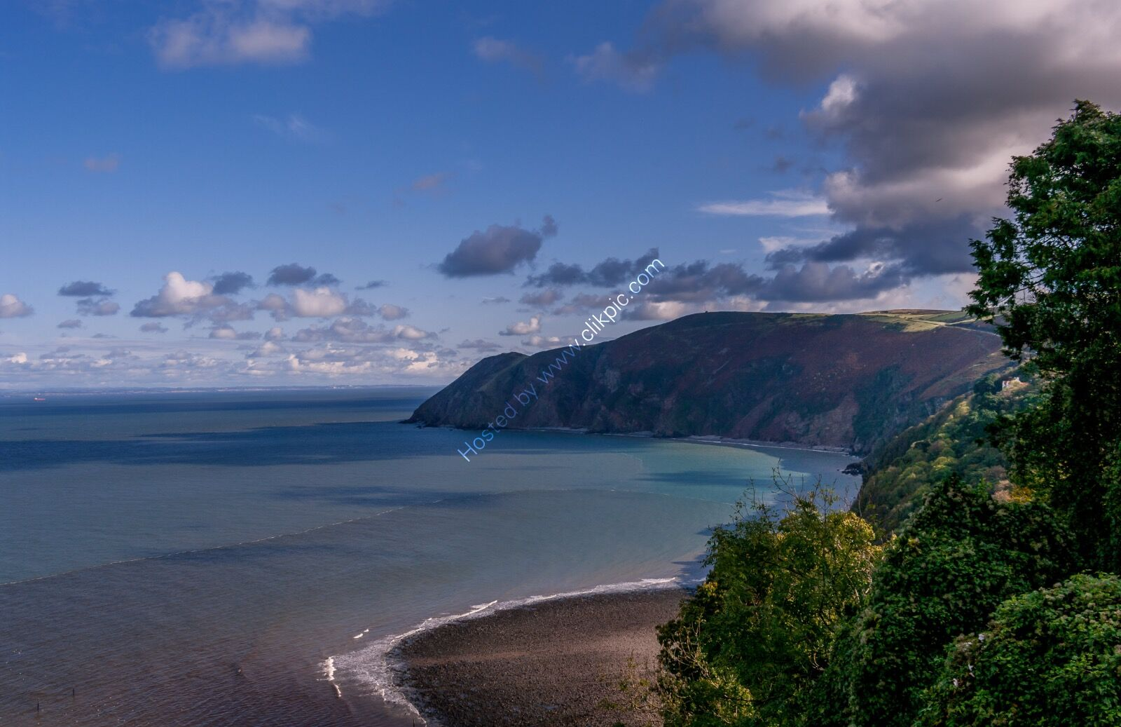 Above Lynmouth
