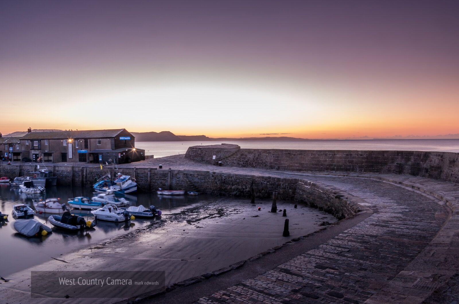 Lyme Regis dawn 2 (1 of 1)