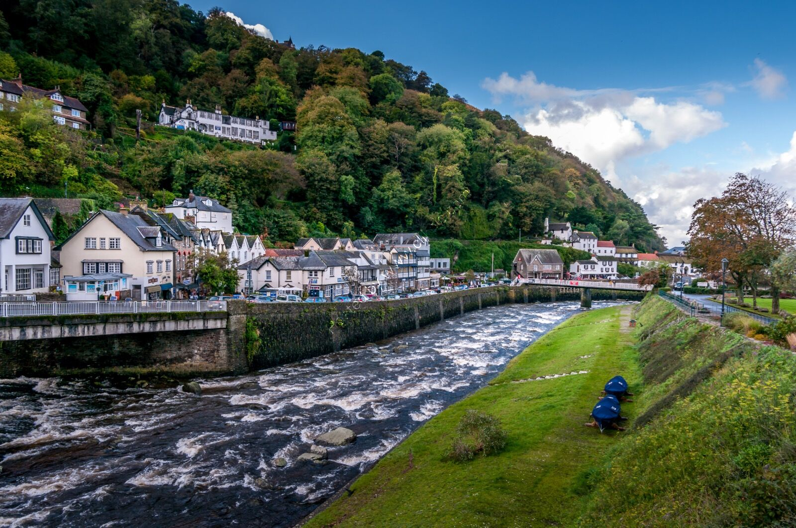 Lynmouth Panorama