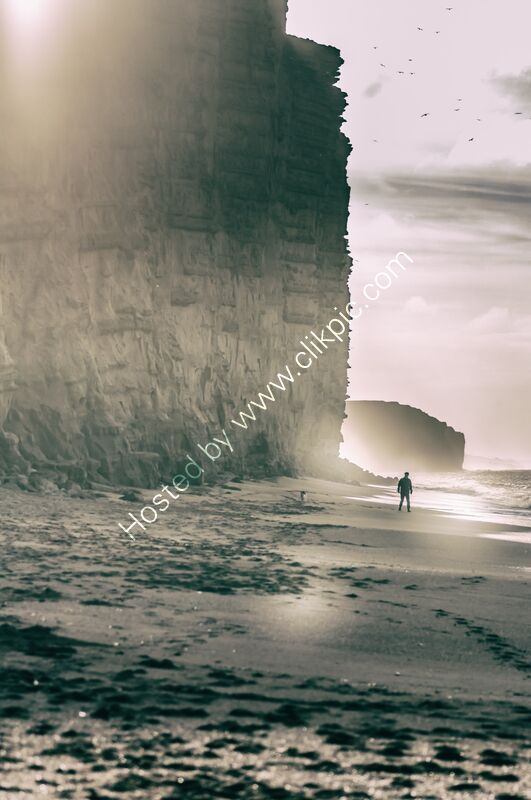Under the East Cliff