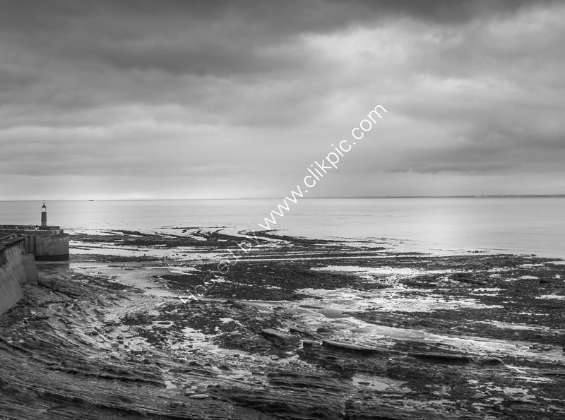 Low tide at Watchet