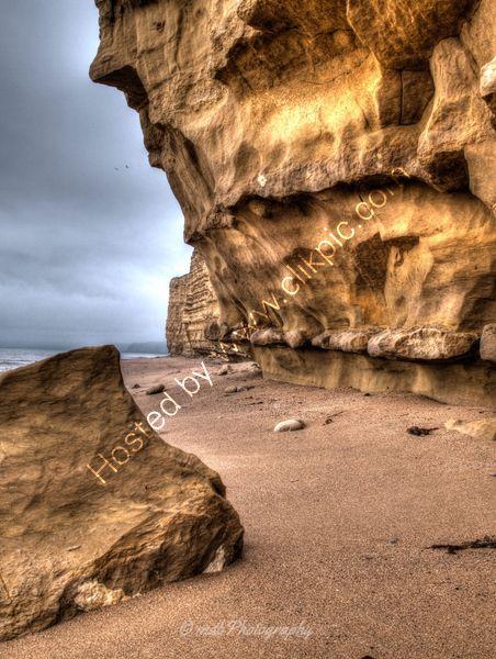 Hive Beach Rocks