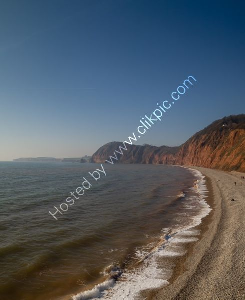 Sidmouth red rocks