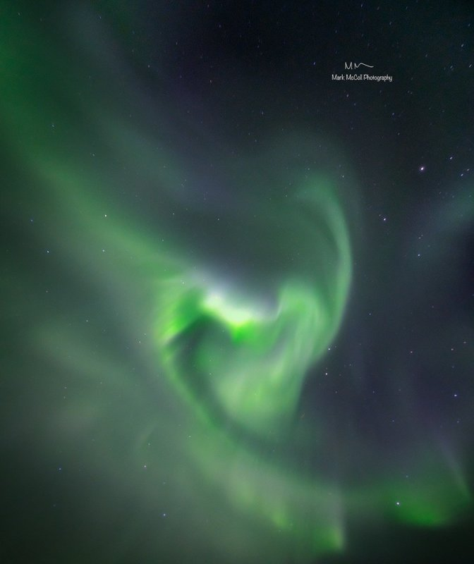 Heart of the Aurora, Arctic Norway