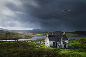 Abandoned Croft House, Outer Hebrides, Scotland