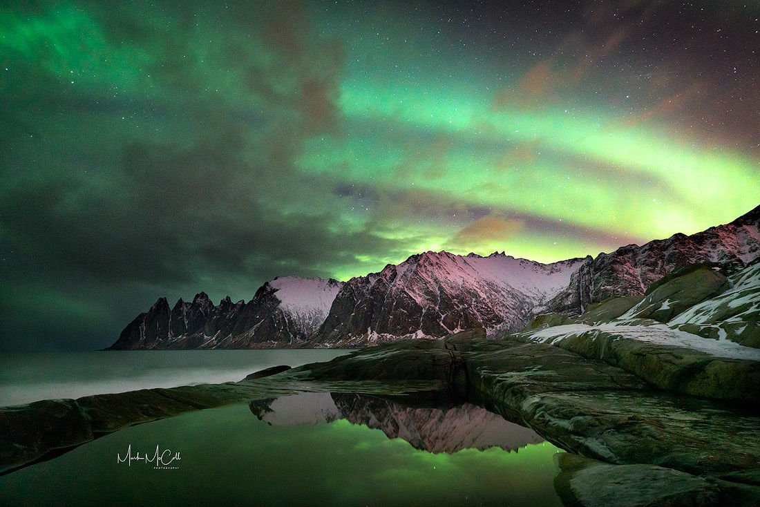 Aurora at Tungeneset, Senja, Arctic Norway
