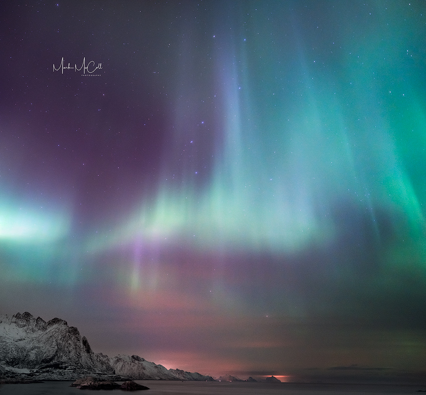 Aurora, Lofoten Islands, Arctic Norway