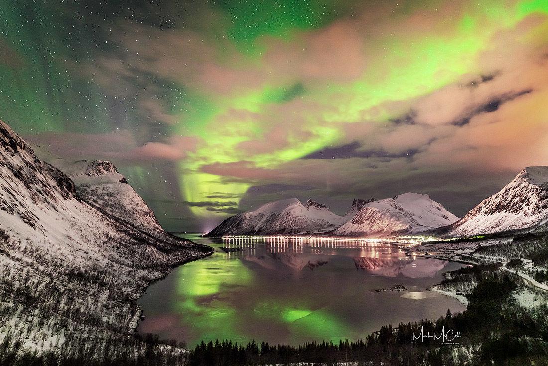Bergsbotn aurora, Senja, Arctic Norway
