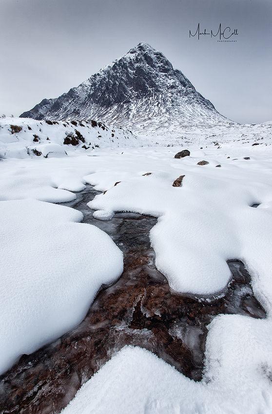 Glen Etive in Winter, Glencoe, Scotland