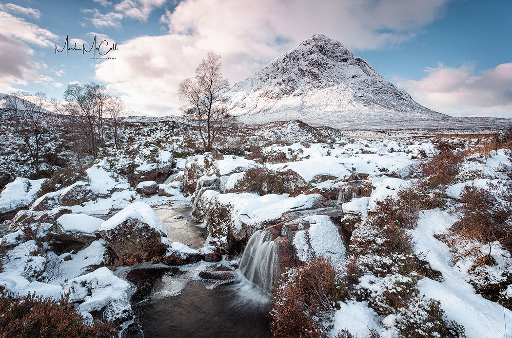 Glen Etive in Winter, Glencoe, Scotland