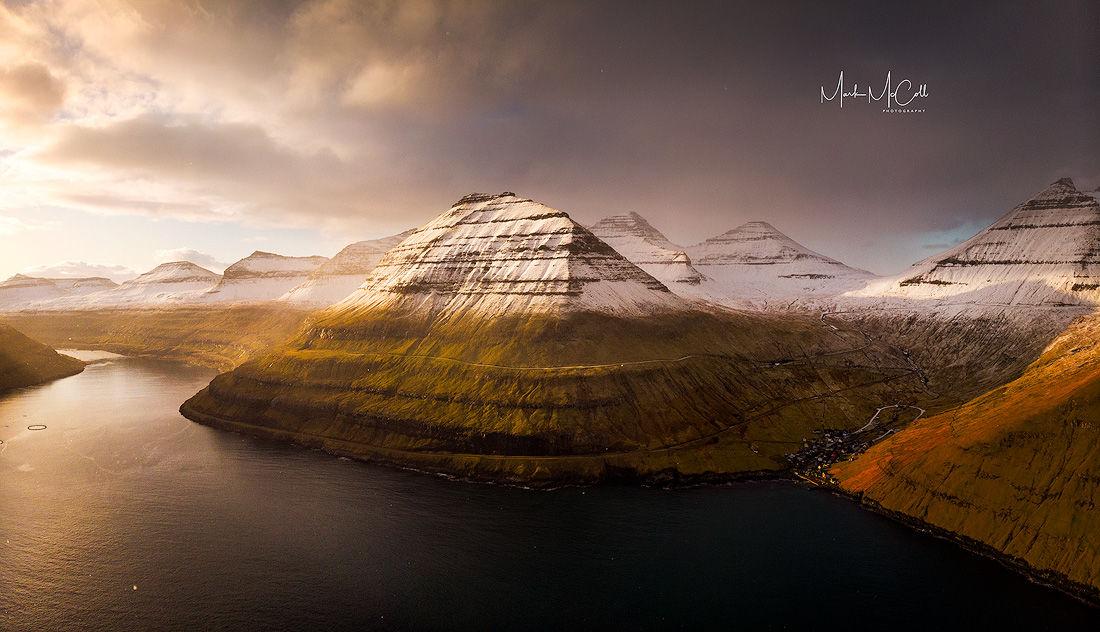 Winter sunrise, Faroe Islands