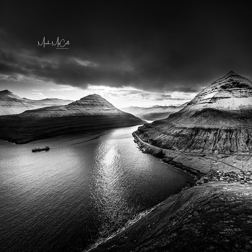 Navigating the fjords, Faroe islands