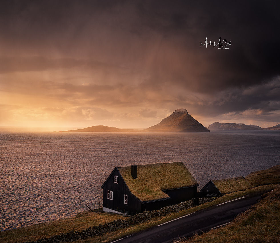House of the setting sun, Faroe islands