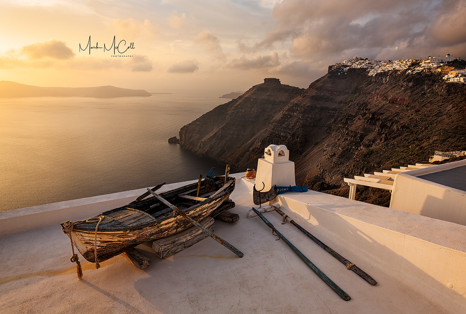Fira sunset, Santorini