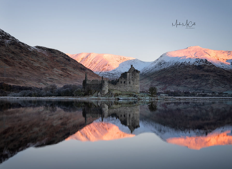 Early winter, Kilchurn castle, Loch Awe, Scotland