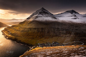 Sunrise, Faroe islands