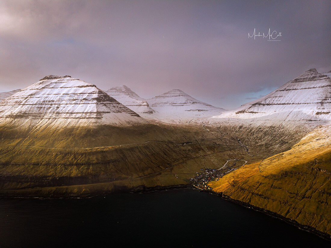 First light, Faroe islands