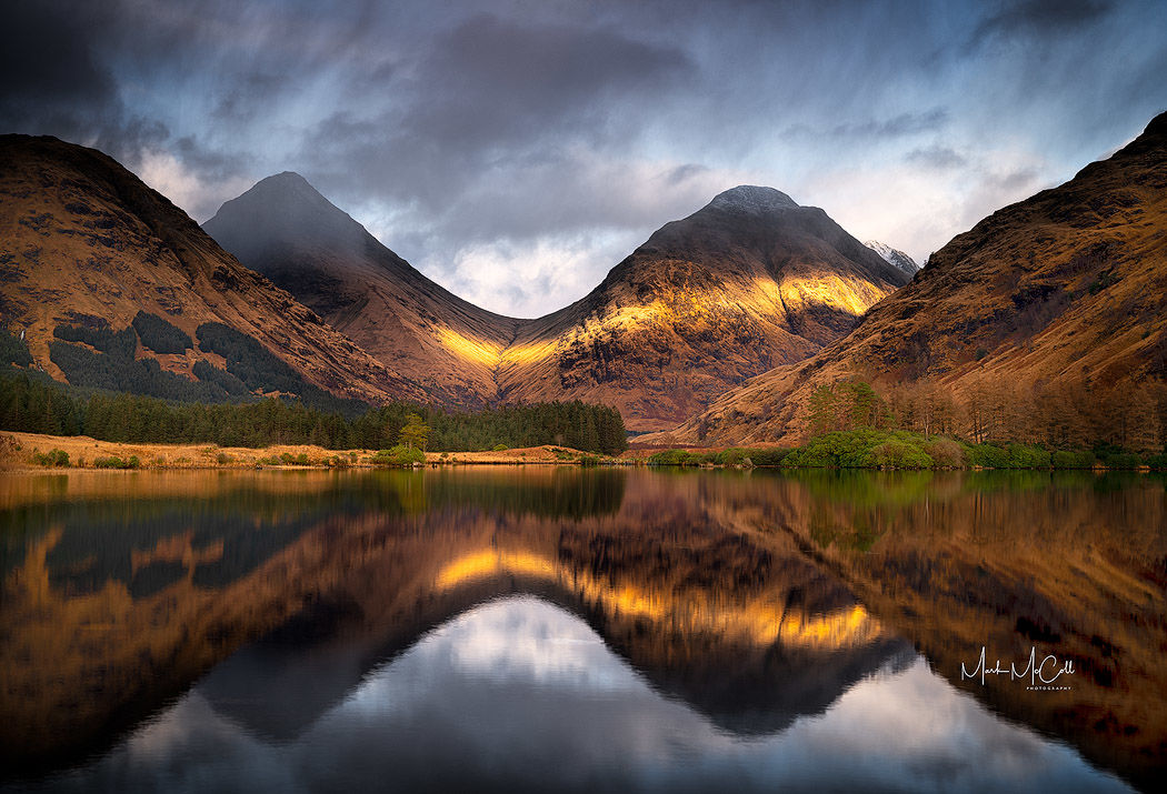 Fleeting light, Glen Etive, Scotland