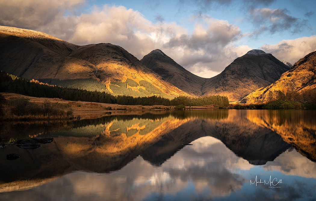 Changing light, Glen Etive, Glencoe, Scotland