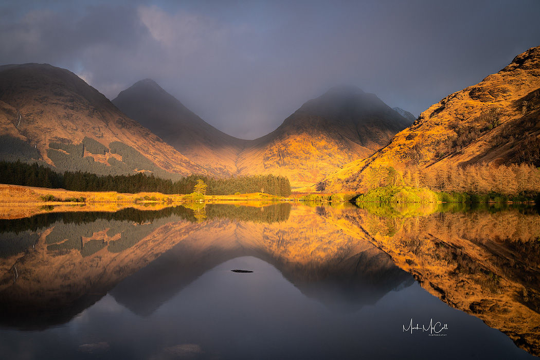 Glen Etive reflections, Glen Etive Scotland