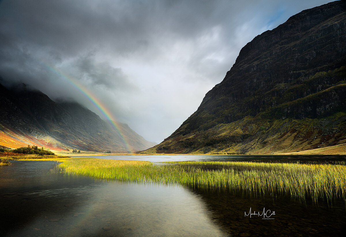 Autumn Rainbow, Glencoe, Scotland