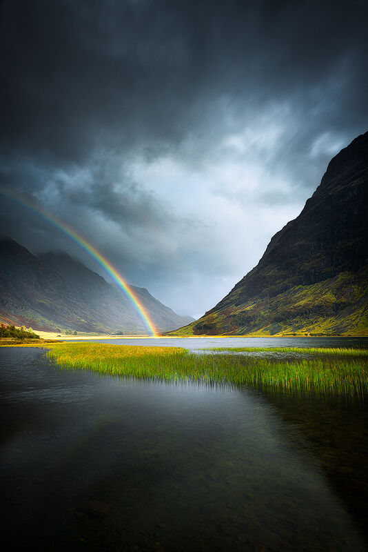 Glencoe Rainbow, Scotland