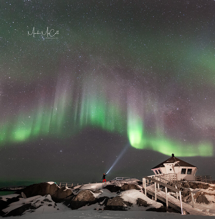 Star wars Aurora, Senja