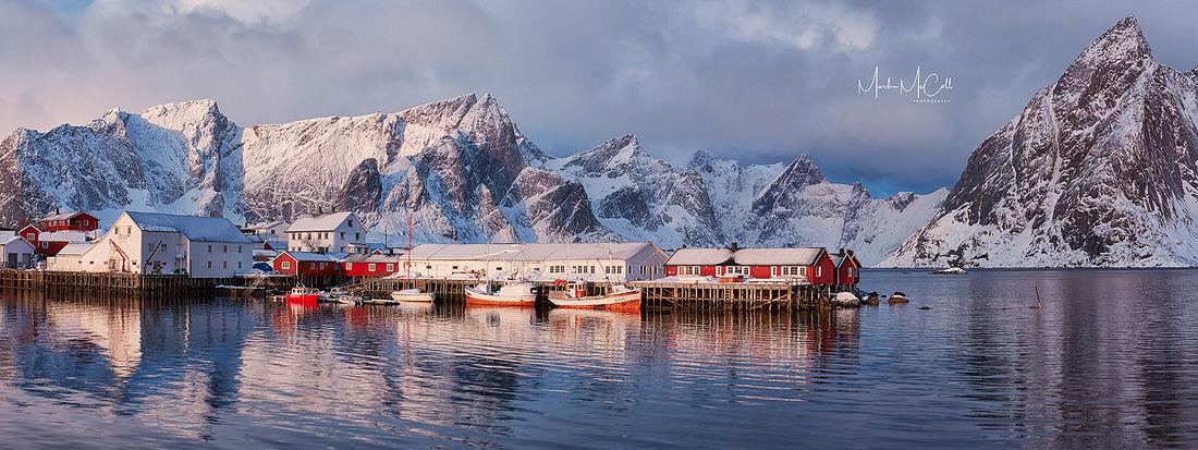 Dawn, Hamnoy, Lofoten Islands, Norway