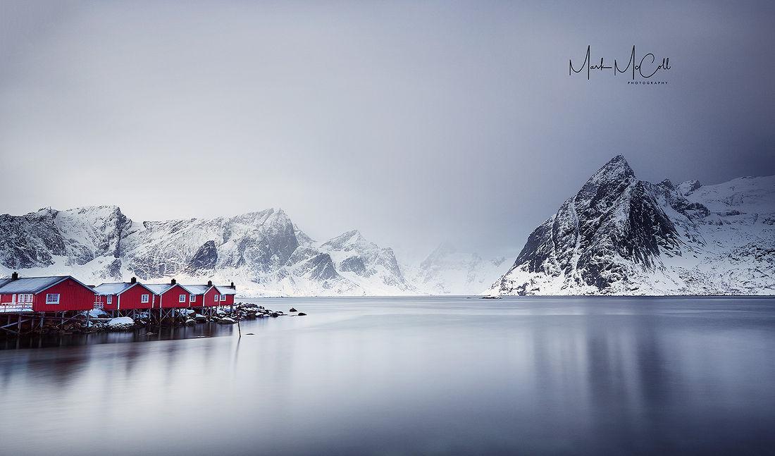 Fishing huts, Hamnoy, Lofoten islands