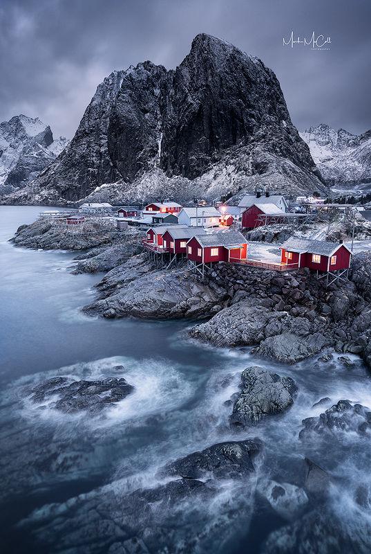 Hamnoy dawn, Lofoten Islands, Norway