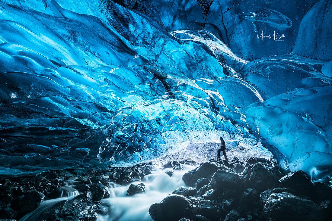 Glacial torrent, Iceland