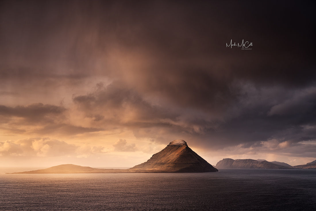 Winter sunset, Faroe islands