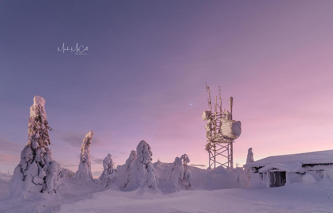 Narnia at dusk, Arctic Finland