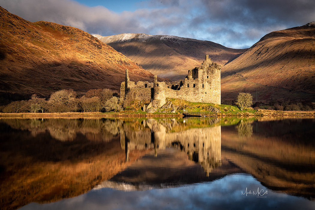 Kilchurn Castle at Dawn, Loch Awe, Scotland