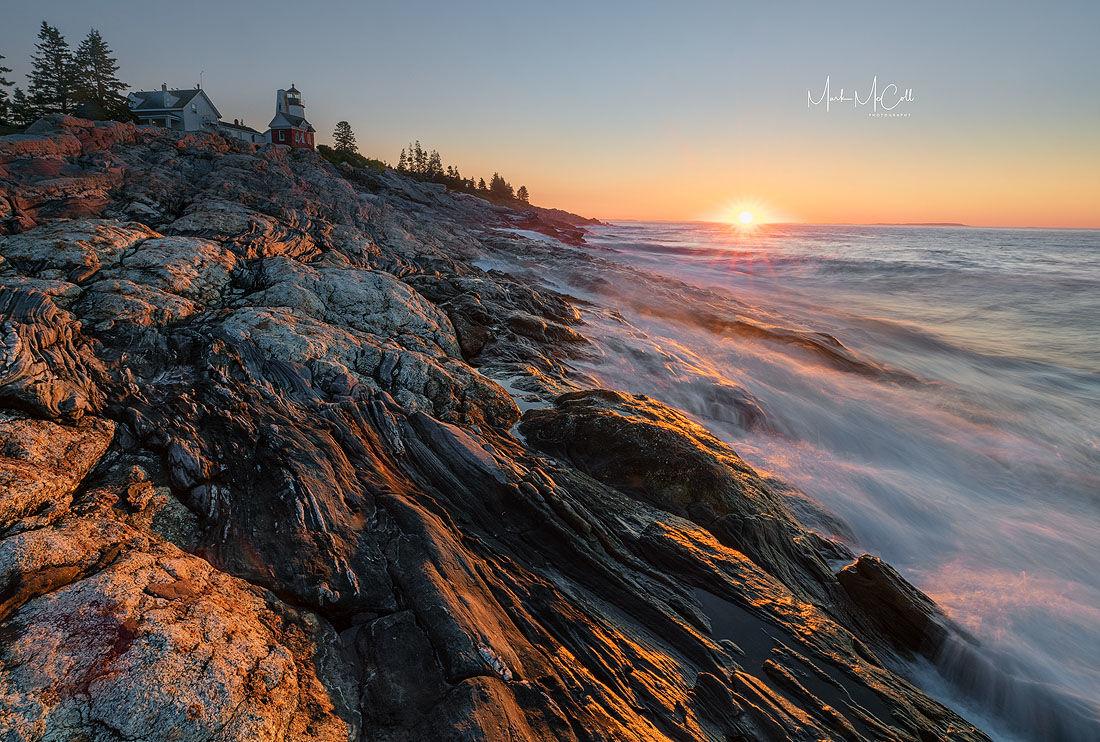 Pemaquid dawn, Maine, USA